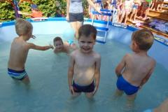 Baloniada i zabawy w basenie :-)