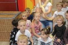 Dzieci kochają zwierzaki- Spotkanie Edukacyjne z Przyrodą, z udziałem żywych okazów wężów.