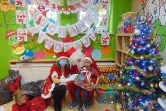 Św. Mikołaj w przedszkolu :)