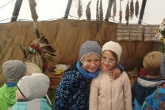 Wizyta dzieci w  Wiosce Indiańskiej
